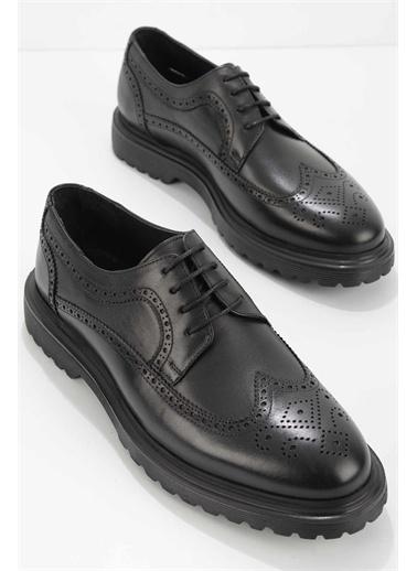 Bambi Oxford Ayakkabı Siyah
